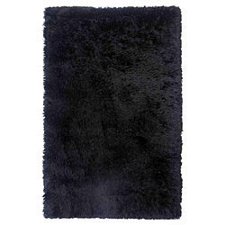 Hand-woven Polyester Rug (5' x 8')