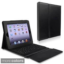Stand Leather Case WITH Bluetooth Keyboard for Apple iPad 2
