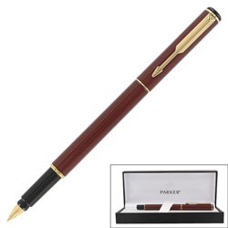 Parker 88 Maroon Lacquer GT Fine Point Fountain Pen