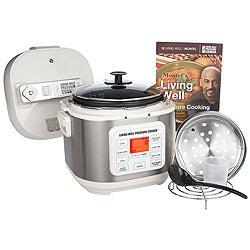 Montel Williams Living Well 5-quart Stainless Steel Pressure Cooker