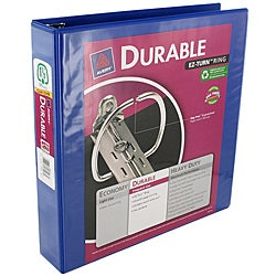Avery Durable EZ-Turn Round Ring Binder (11 x 8.5) Case of 18