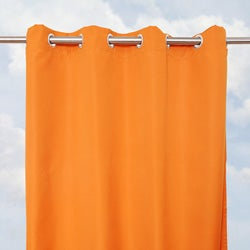 Sunbrella Bay View Tuscan 96-inch Outdoor Curtain Panel