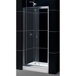 DreamLine Butterfly Frameless 34-36 x 72-inch Bi-Fold Shower Door
