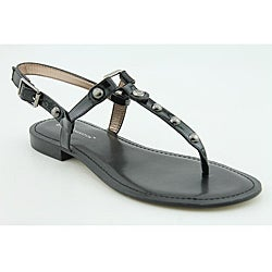 BCBGeneration Women&#39;s Barth Black Sandals