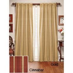 Madison Silk Stripe Curtain Panel