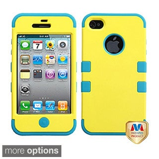 INSTEN Hybrid Protector Cover for Apple iPhone 4S/ 4