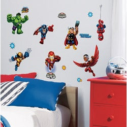 RoomMates Marvel Super Hero Squad Peel and Stick Wall Decals
