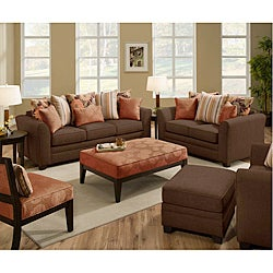 Beautyrest Avignon Earth Loveseat