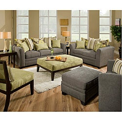Beautyrest Avignon Charcoal Loveseat