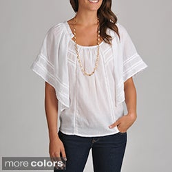 Chelsea & Theodore Women's Cotton Voile Top