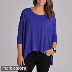 Grace Elements Women's Uneven Hem Pullover Top