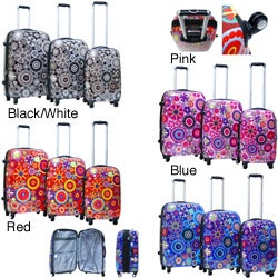Calpak Carnival 3-piece Expandable Hardside Spinner Luggage Set