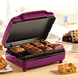 Sensio Bella Brownie Maker Purple
