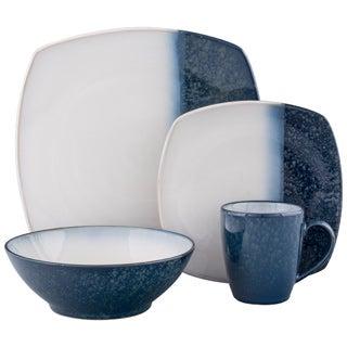 Sango Blue Metallics 16-piece Dinnerware Set