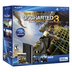 PS3 250GB Uncharted 3 Bundle