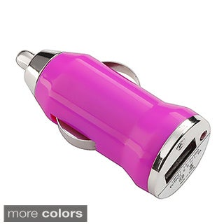 INSTEN Universal USB Mini Car Charger Adapter for Apple iPhone 4/ 4S/5/ 5S/ 6