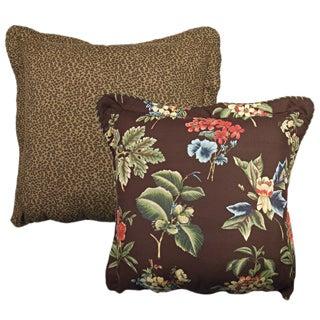 Rose Tree Queensland Reversible Decorative Pillow
