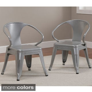 Kids Tabouret Stacking Chairs (Set of 2)