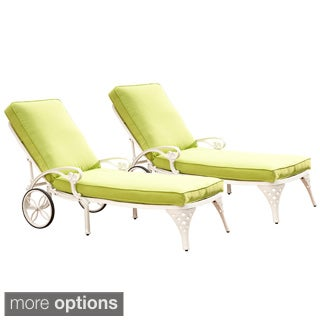 Biscayne Chaise Lounge Chairs with Cushion