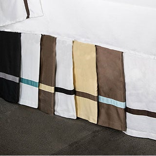 Simple Elegance Hotel Collection 15-inch Drop 3-side Bedskirt