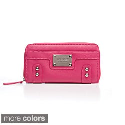 Nine West Studded Zip-around Wallet