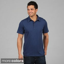 Men's 5-button Jersey Polo Shirt