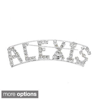 'A Collection' Crystal Name Pin