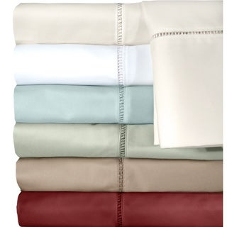 Grand Luxe Cotton Linford 500 Thread Count Deep Pocket Sheet or Pillowcase Separates