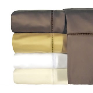 Grand Luxe Egyptian Cotton Linford 800 Thread Count Deep Pocket Sheet or Pillowcase Pair Separates