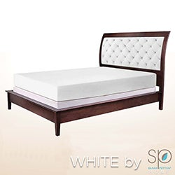 WHITE by Sarah Peyton 10-inch Traditional Firm Support Memory Foam Mattress and Pillow Set