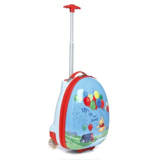 Heys USA Disney Kid's 'Up Up and Away' Winnie The Pooh Hardside Rolling Carry-on Upright Luggage