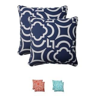 Pillow Perfect Outdoor Carmody Corded 18.5-inch Throw Pillows (Set of 2)