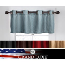 Grand Luxe Braxton Window Valance