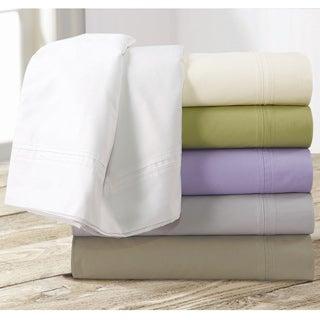 Egyptian Cotton Percale 350 Thread Count Deep Pocket Sheet Set