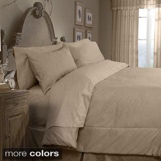 Grand Luxe Egyptian Cotton Sateen 300 Thread Count 4-piece Comforter Set