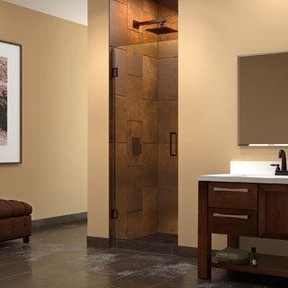 DreamLine Unidoor 25-inch Frameless Hinged Shower Door