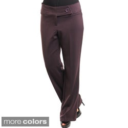 Stanzino Women's Plus Relaxed Fit Pants