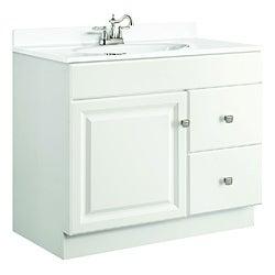 Design House Wyndham White Semi-gloss Vanity Cabinet