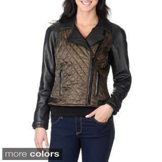 Vince Camuto Women's Motorcycle Jacket