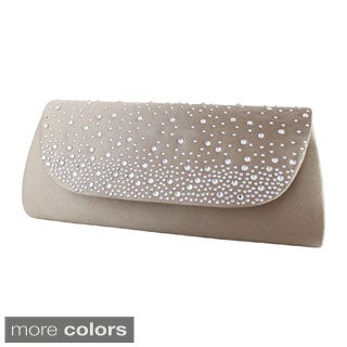 Charming Beaded Evening Clutch by Jacki Design