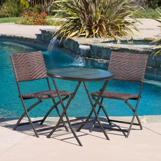 El Paso Outdoor 3-piece Multibrown Folding Set