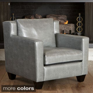 Christopher Knight Home Quaker Leather Club Chair