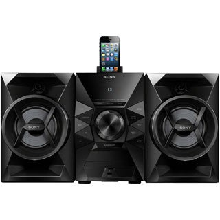 Sony MHC-EC619iP Micro Hi-Fi System - 120 W RMS - iPod Supported - Bl