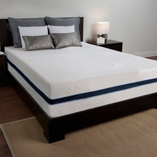 Sealy 12-inch Queen-size Memory Foam Mattress