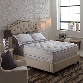 Serta Perfect Sleeper Bristol Way Supreme Gel Euro Top Full-size Mattress Set