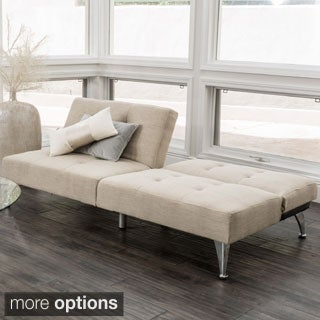 Christopher Knight Home Alston Click-Clack Oversized Convertible 2-piece Sofa