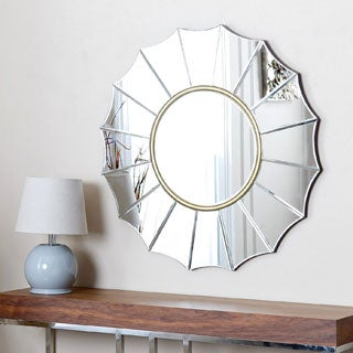 ABBYSON LIVING Embassy Round Wall Mirror