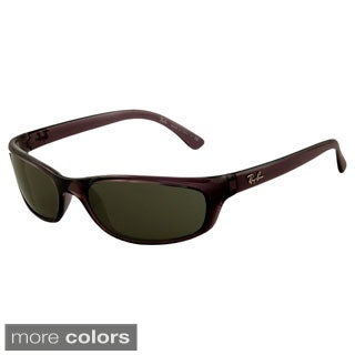 Ray-Ban Men's 'RB4115' Wrap Sport Sunglasses