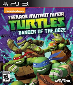PS3 - Teenage Mutant Ninja Turtles: Danger of the Ooze