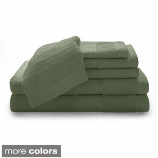Luxury 100-percent Cotton 6-piece Towel Set